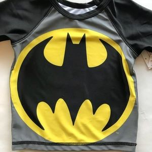 256277ea93 Old Navy Swim - Old Navy NWT Batman Short Sleeves Swim Shirt Top